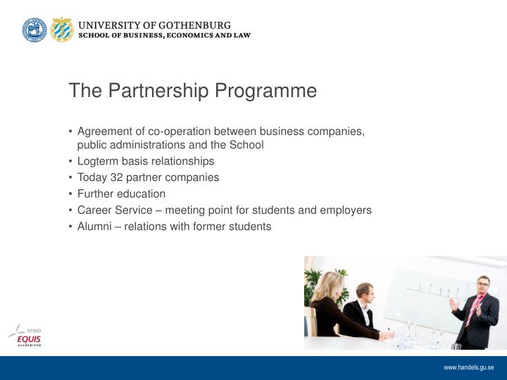 The Partnership Programme
