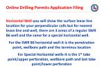 online drilling permits application filing25