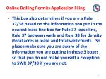 online drilling permits application filing26