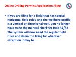online drilling permits application filing27