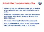 online drilling permits application filing35