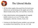 the liberal media