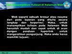 tips menampilkan tulisan di halaman web