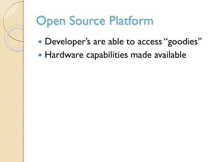 Open Source Platform