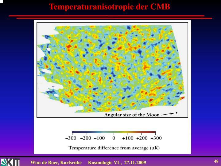 Temperaturanisotropie der CMB