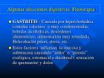 algunas afecciones digestivas fitoterapia