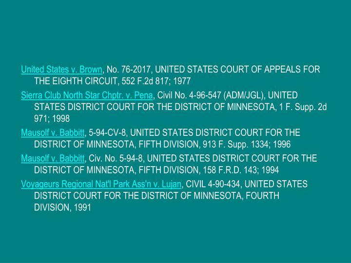 United States v. Brown