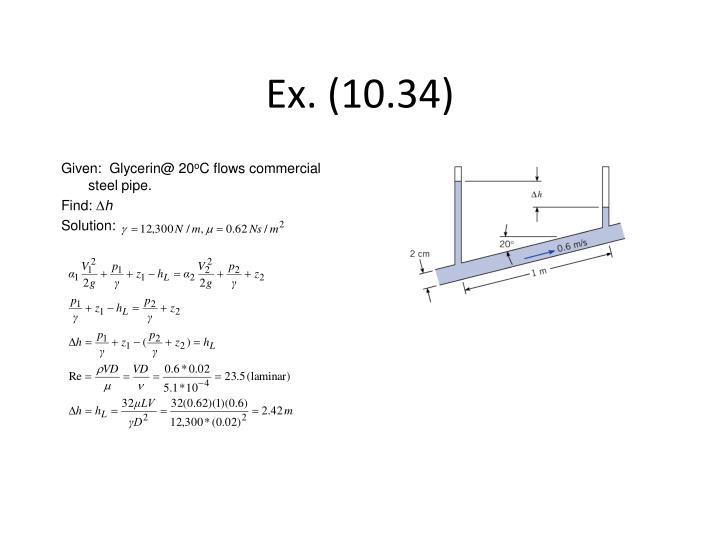 Ex. (10.34)