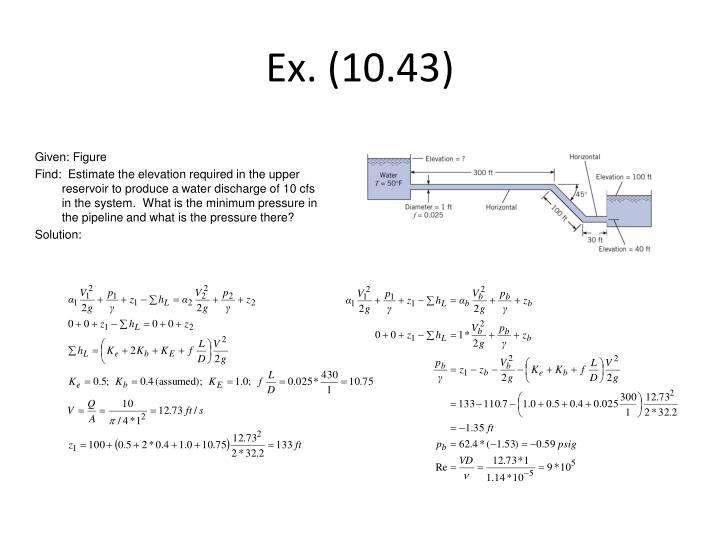 Ex. (10.43)