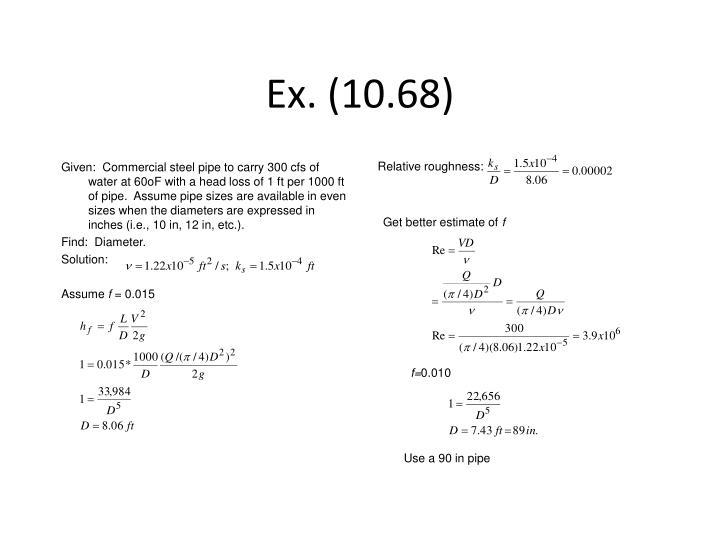 Ex. (10.68)