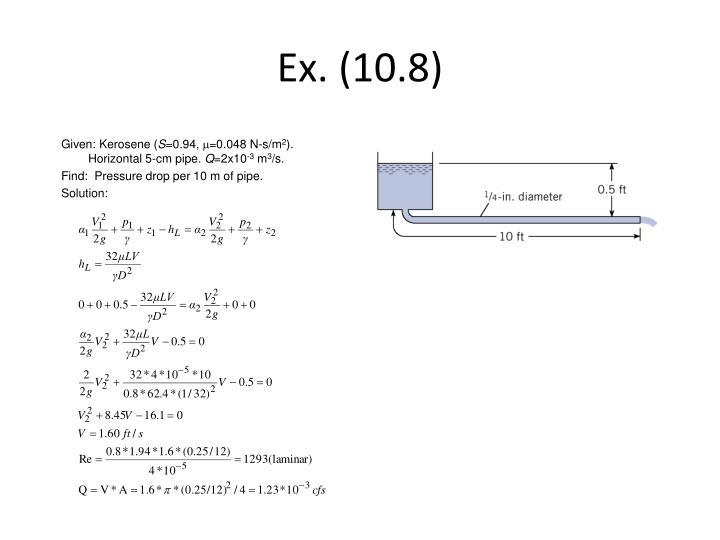 Ex. (10.8)