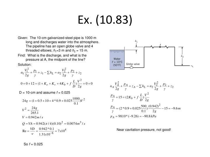 Ex. (10.83)
