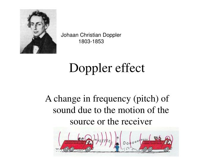 Johaan Christian Doppler