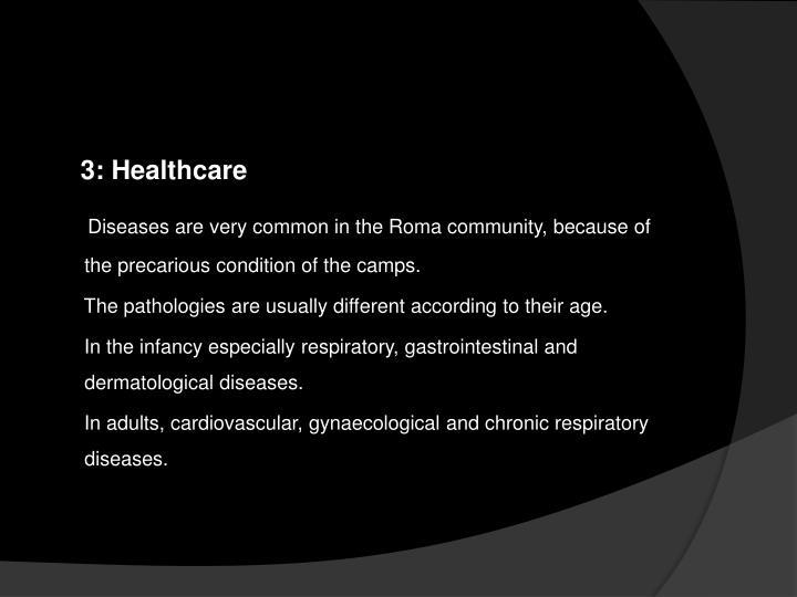 3: Healthcare