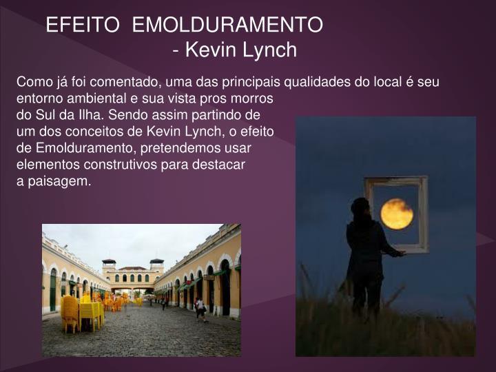 EFEITO  EMOLDURAMENTO