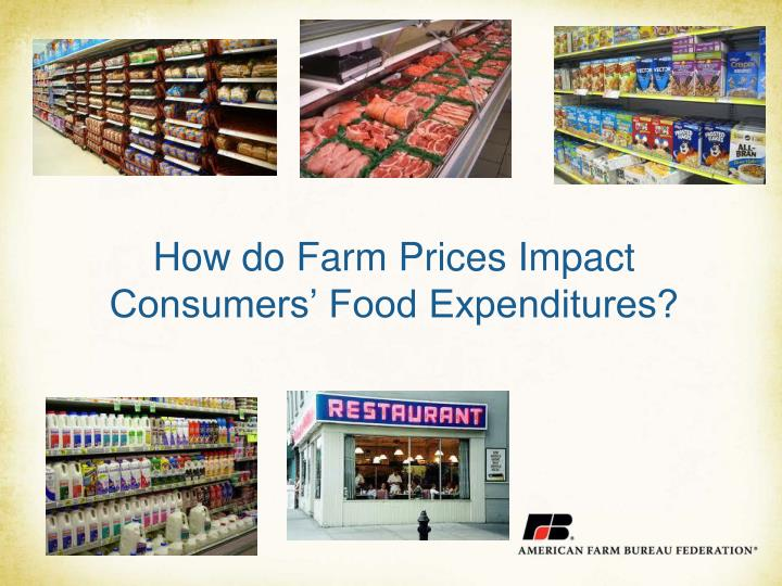 How do Farm Prices Impact Consumers' Food Expenditures?