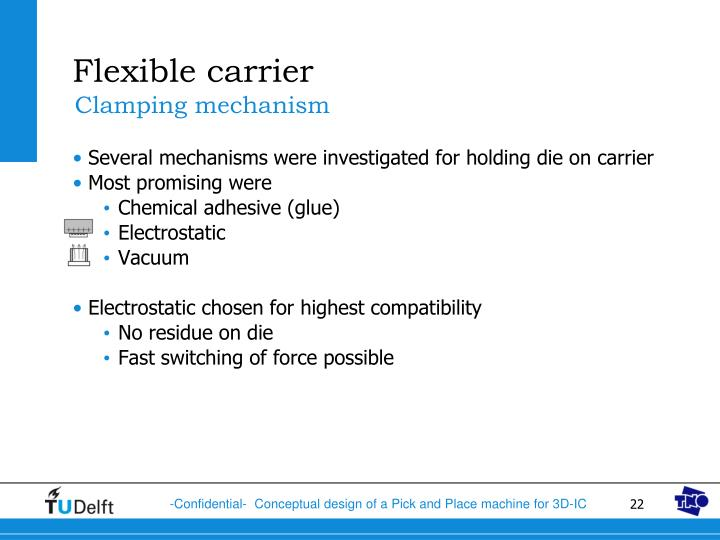 Flexible carrier