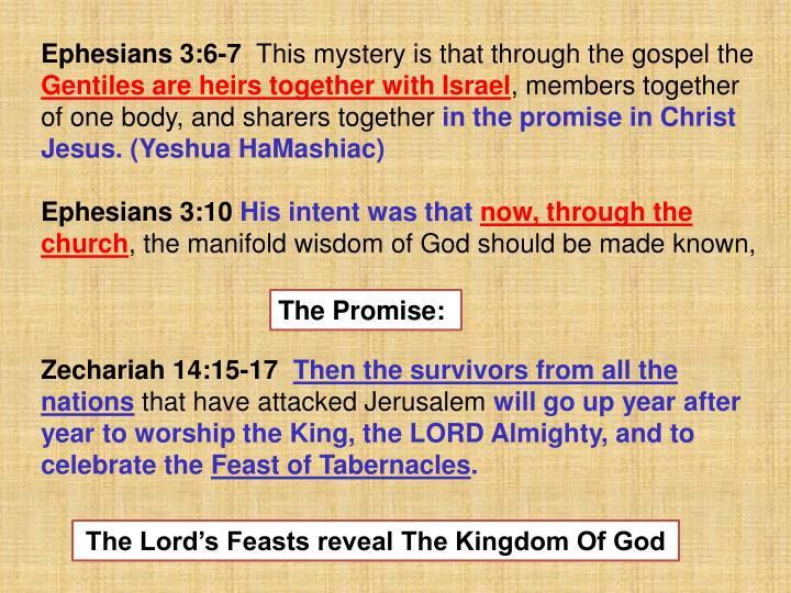Ephesians 3:6-7
