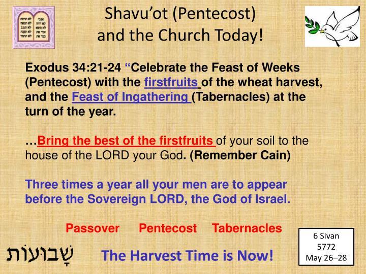 Exodus 34:21-24