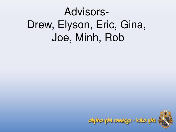 Advisors-