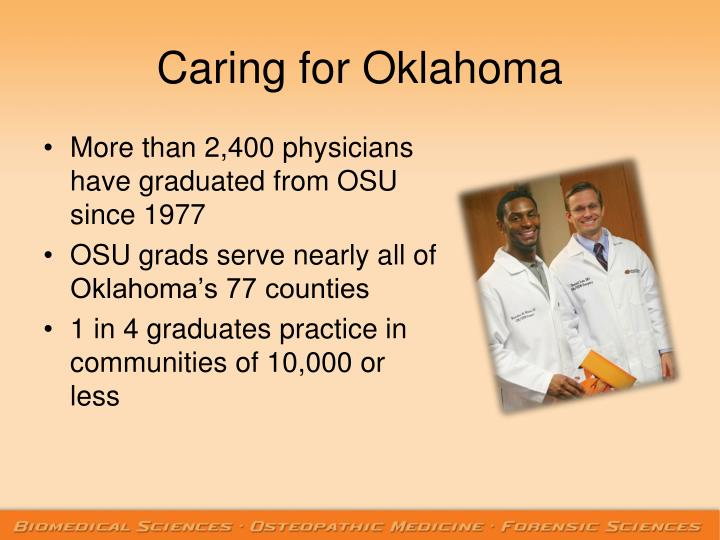 Caring for Oklahoma