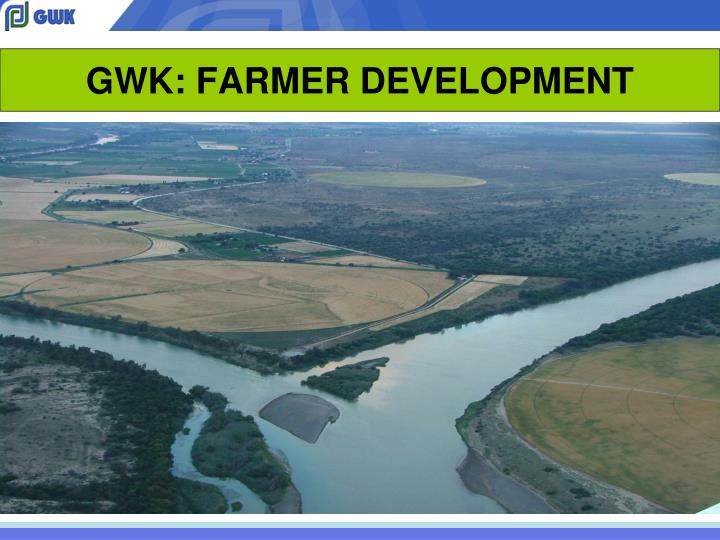 Gwk farmer development