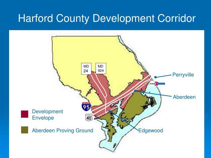 Harford County Development Corridor