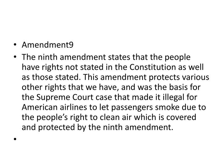 Amendment9