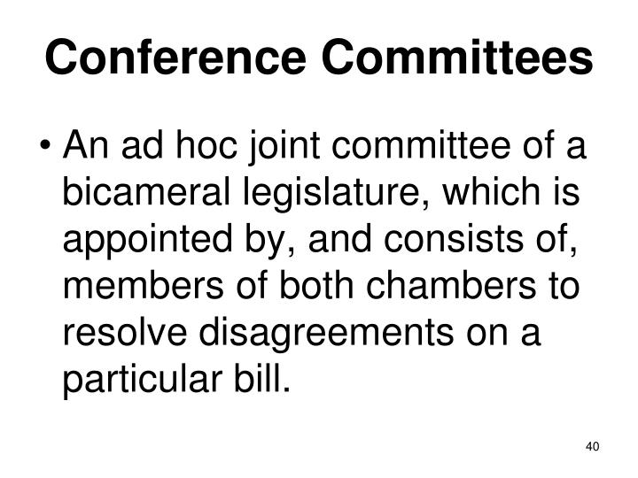 Conference Committees
