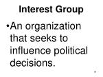 interest group