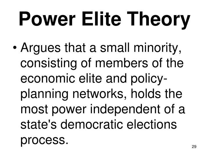 Power Elite Theory