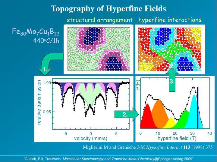 Topography of Hyperfine Fields