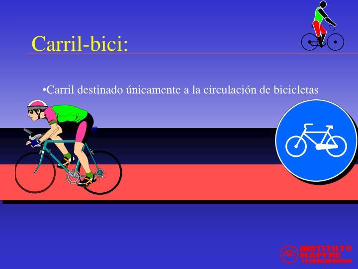 Carril-bici: