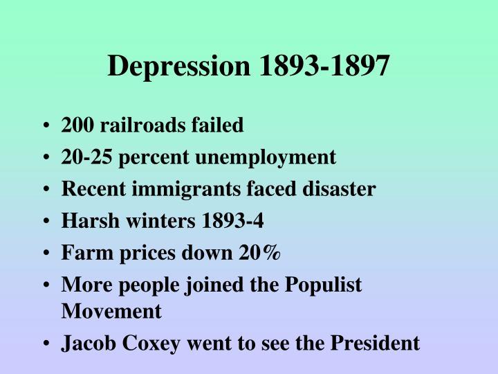 Depression 1893-1897