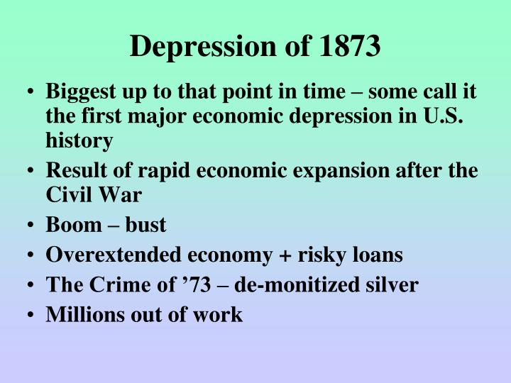 Depression of 1873