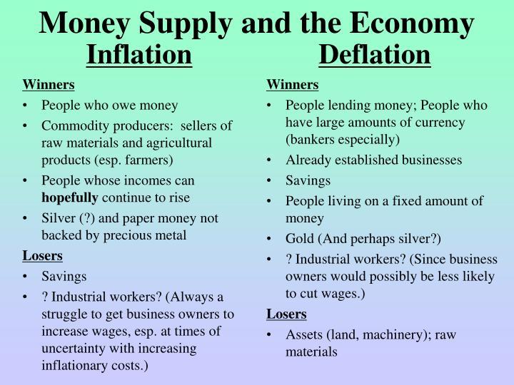 Money Supply and the Economy