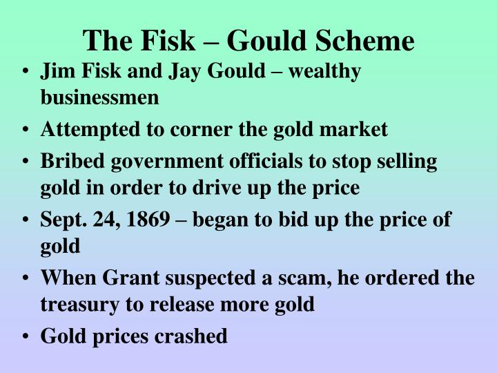 The Fisk – Gould Scheme