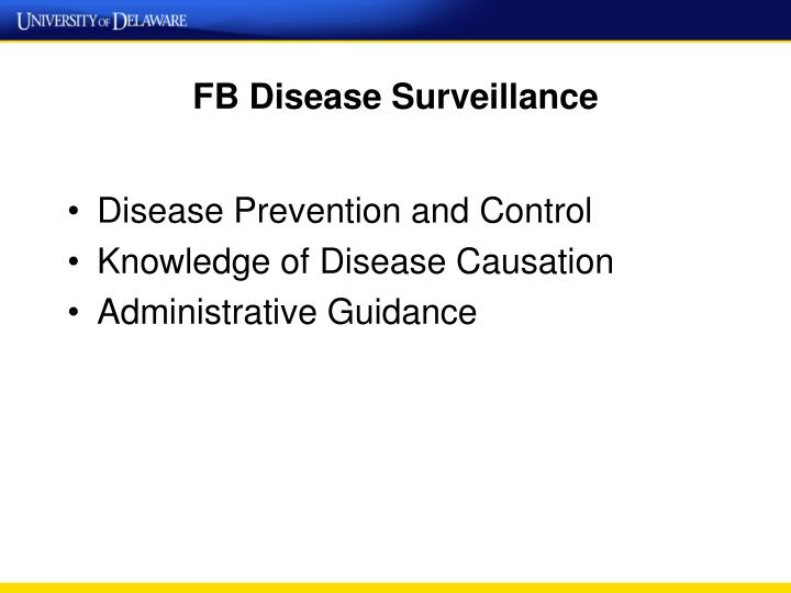 FB Disease Surveillance