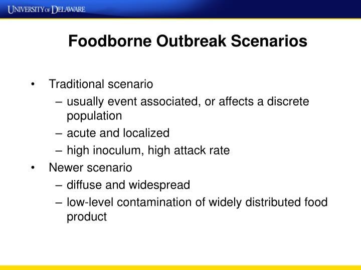 Foodborne Outbreak Scenarios