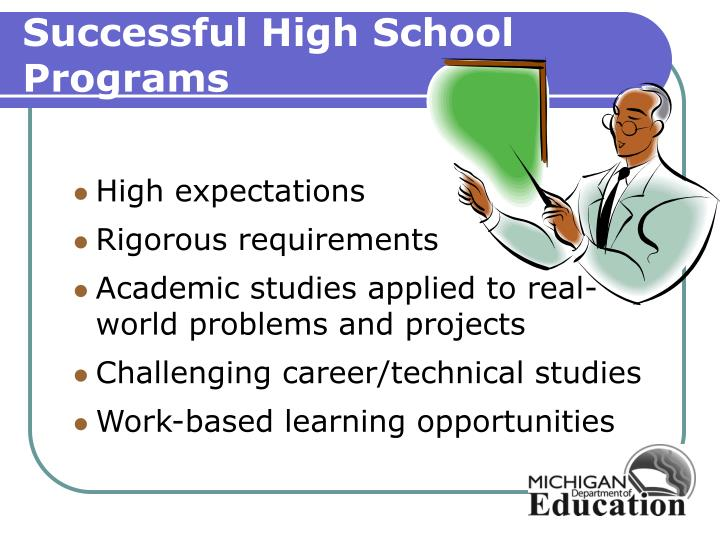 Successful High School Programs