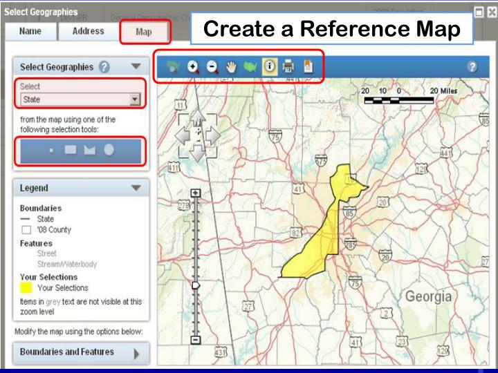 Create a Reference Map
