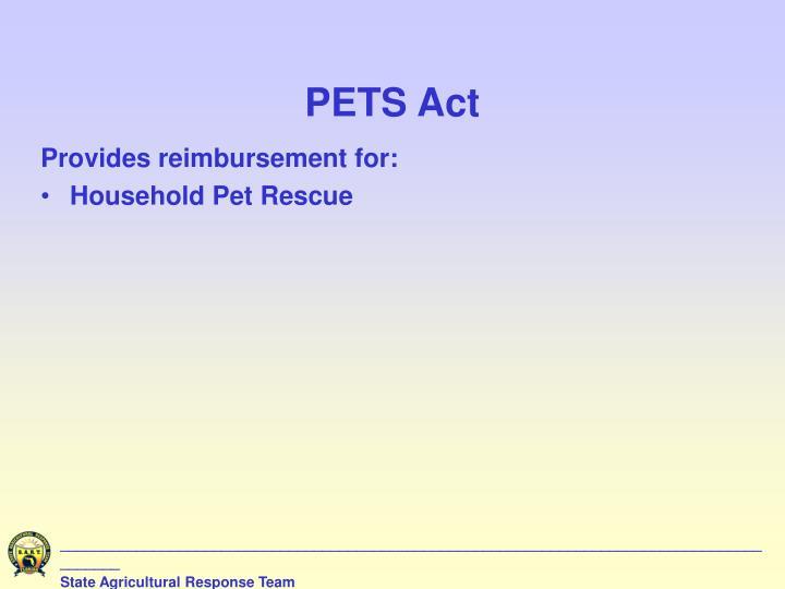 PETS Act