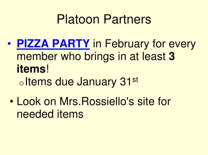 Platoon Partners