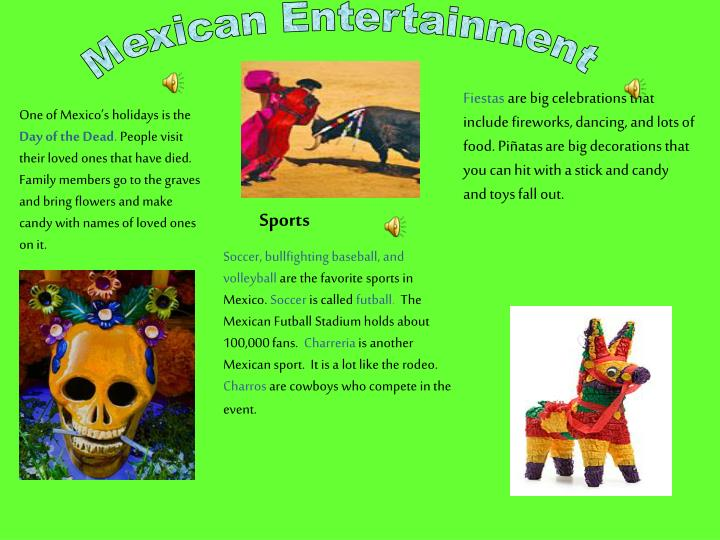Mexican Entertainment