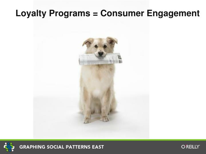 Loyalty Programs = Consumer Engagement