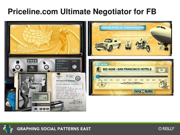 Priceline.com Ultimate Negotiator for FB