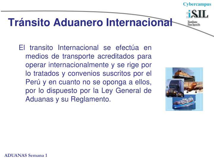 Tránsito Aduanero Internacional