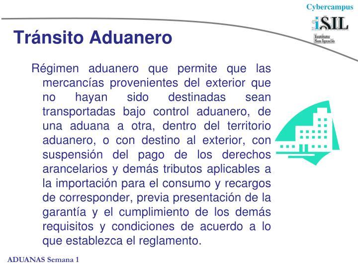 Tránsito Aduanero