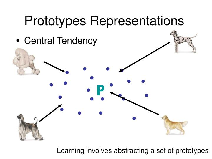 Prototypes Representations