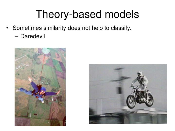 Theory-based models